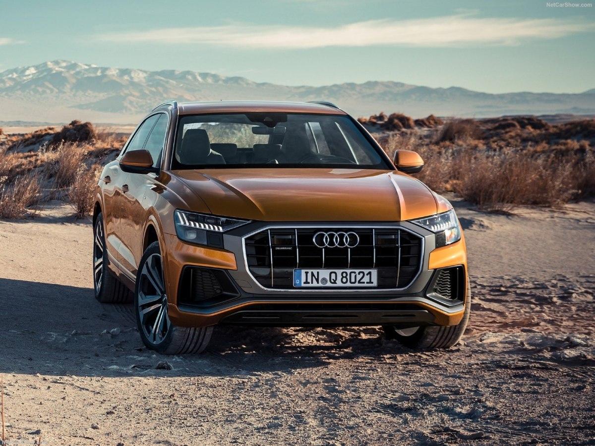 """Audi Q8 2020 года - немецкое кросс-купе с """"мягким"""" гибридом, спортивными """"повадками"""" и современным оборудованием"""