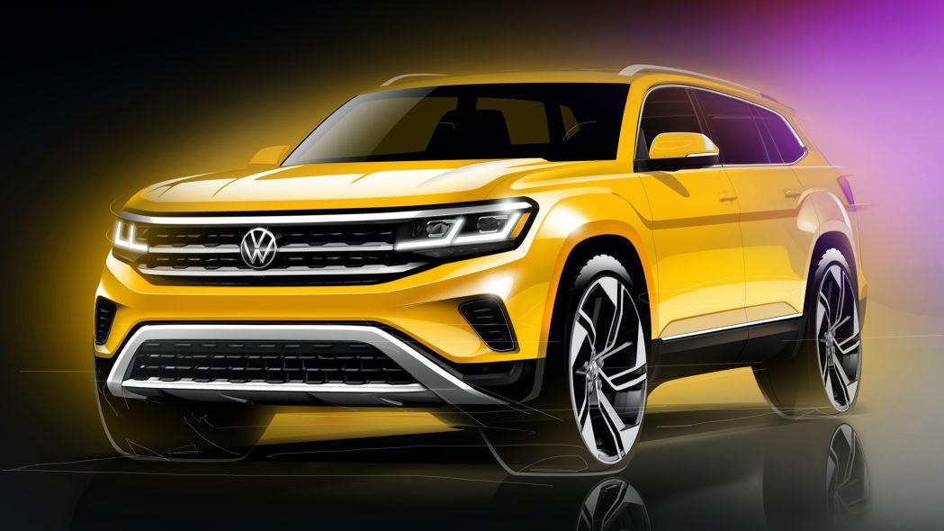 Volkswagen Teramont 2018 компания готовится к началу продаж нового внедорожника