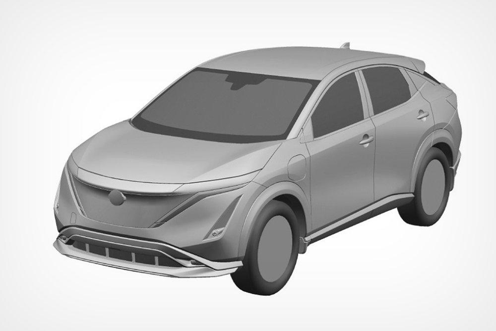 Nissan запатентовал в России свой первый электрокар