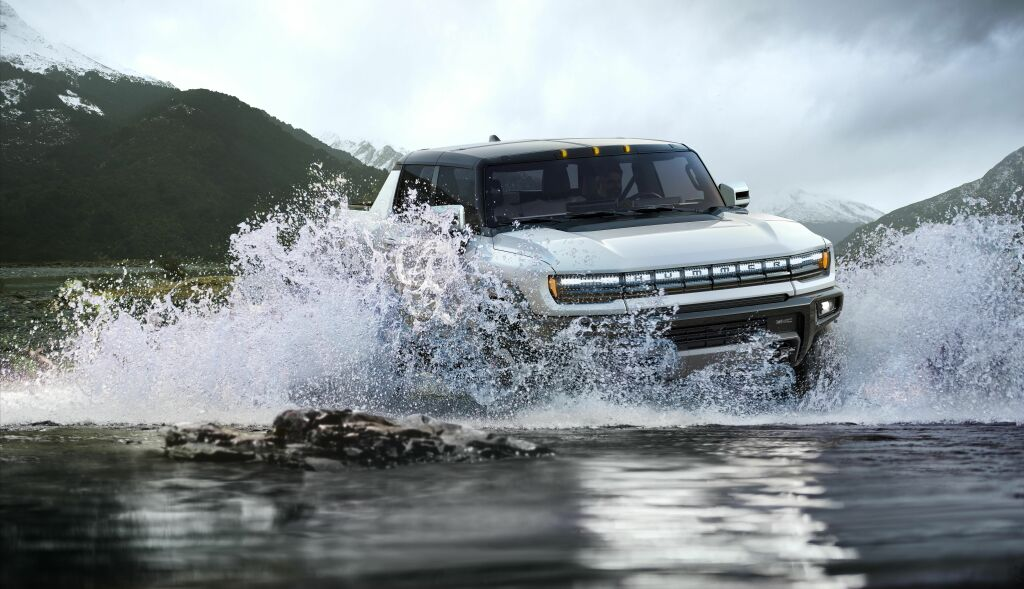 Пикап GMC Hummer EV
