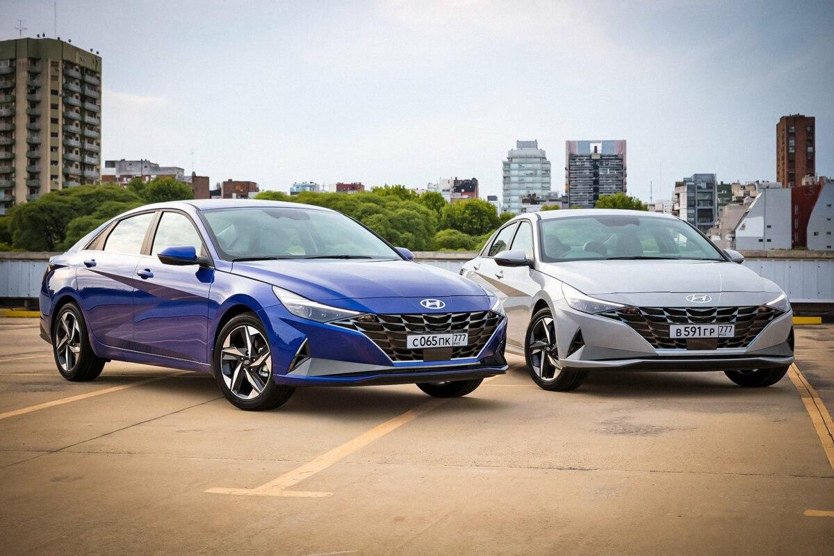 Hyundai представил новую Hyundai Elantra для России