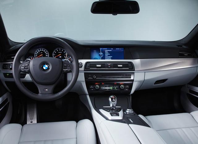 БМВ М5 (BMW M5) - Салон M5