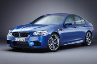 БМВ М5 (BMW M5) - Вид спереди