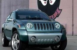 Фото Jeep Liberty - Вид спереди