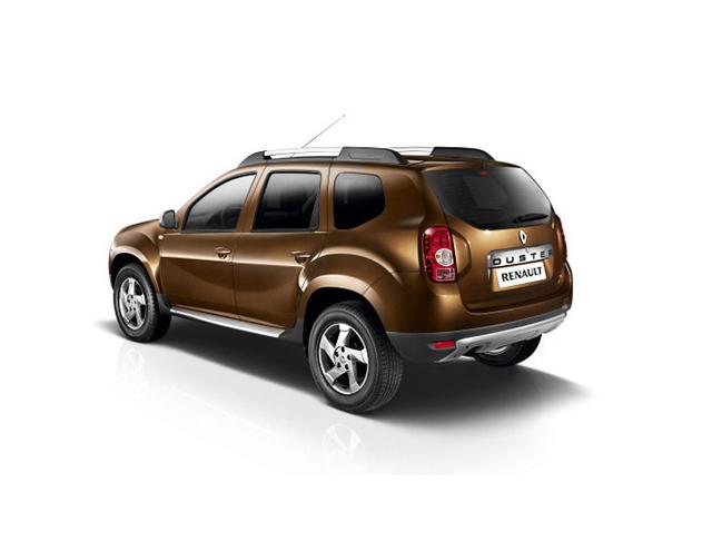 Кроссовер Renault Duster (Рено Дастер) - Вид сзади