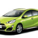 Toyota опубликовала фото и цены Toyota Aqua (Toyota Prius C)