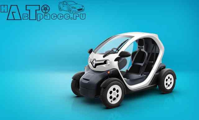 Фото новый Renault Twizy