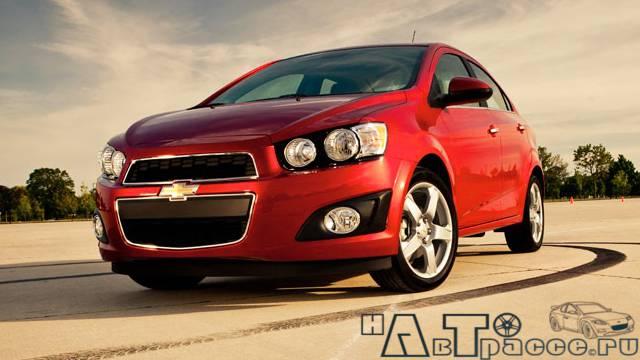 Фото Chevrolet Aveo 2012 (шевроле авео 2012) - вид спереди