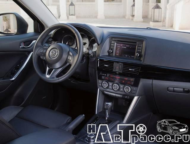 Фото салона Mazda cx-5 (Мазда cx-5) - Панель управления