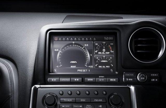 Фото Nissan GT-R - Бортовой компьютер