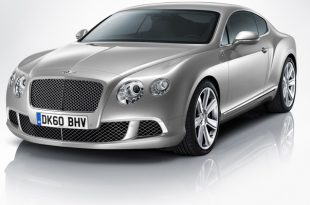 Фото Bentley Continental GT 2011 - Вид спереди