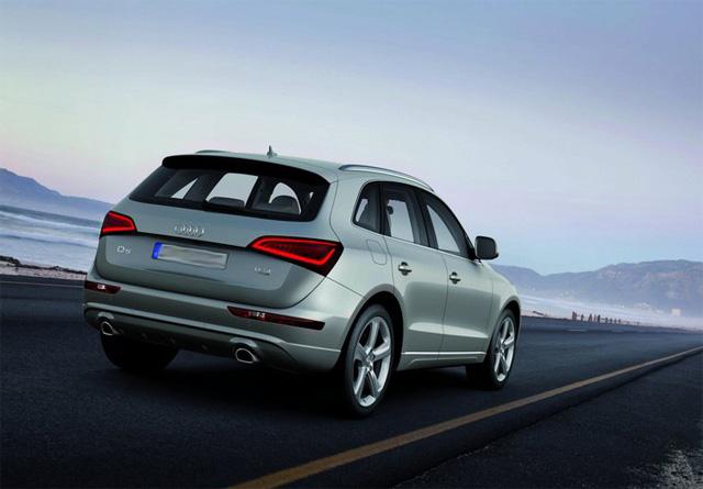 Фото нового Audi Q5 - Вид сзади
