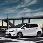 Обновленная Toyota Verso поступит в продажу в 2013 году