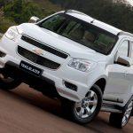 Обновленный внедорожник Chevrolet TrailBlazer II в России