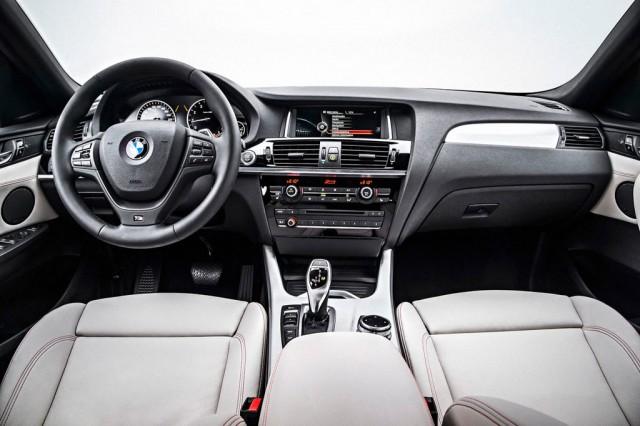 Салон BMW X4 - Передние сидения