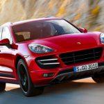 Эксклюзивный Porsche Macan Turbo получил насыщенно-красный цвет