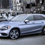 Обнародованы фото гибридного Mercedes-Benz GLC 2015-2016 в камуфляже