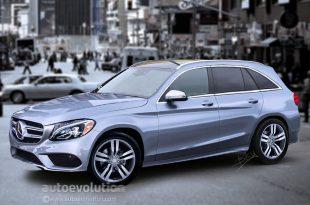 Фото концепта Mercedes GLC 2016