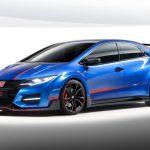 Компания Honda продемонстрирует на женевском автосалоне 2015 серийный Civic Type R 2016