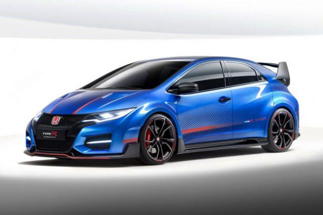 Honda Civic Type R 2015 фото