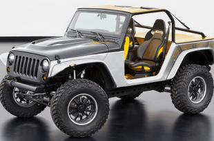 Концепт Jeep Wrangler 2016-2017
