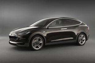 Новый кроссовер Tesla