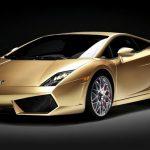 Lamborghini Gallardo LP560-4 Gold выпущен ограниченным тиражом в 10 экземпляров
