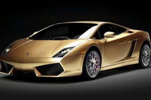 Lamborghini Gallardo LP560-4 Gold Limited Edition