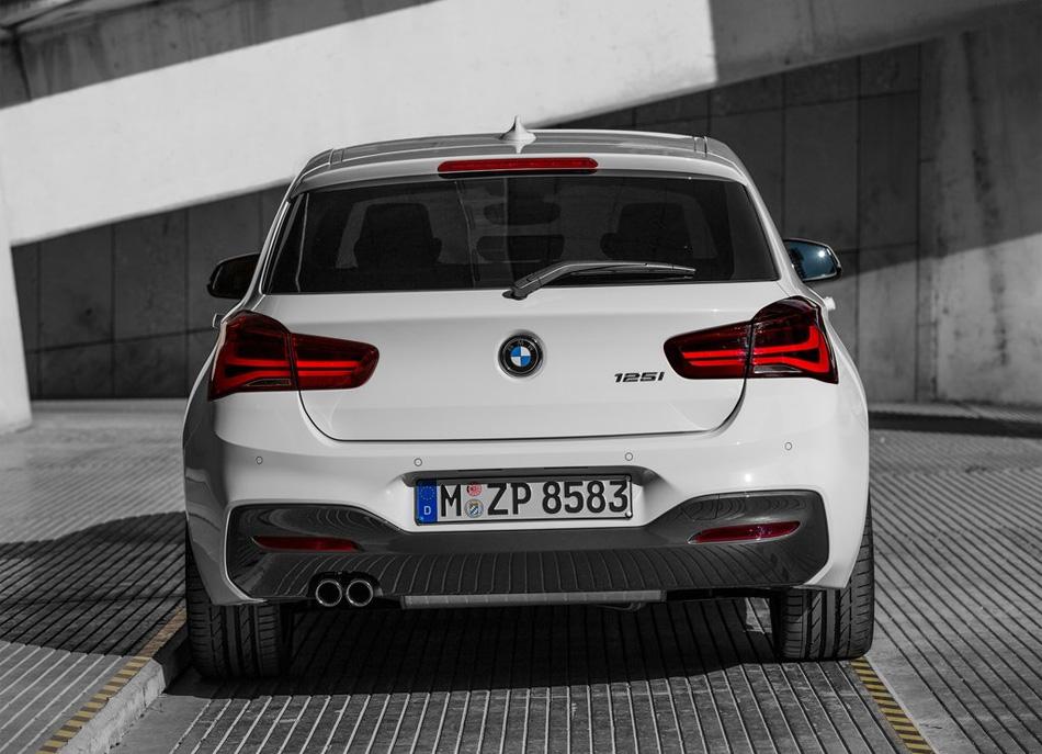 Рестайлинговый BMW 1 Series 2015
