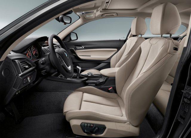 Фото интерьера BMW 1 Series 2015-2016