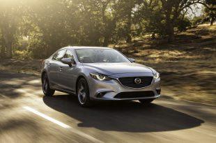 Фото обновленной Mazda 6 2015-2016
