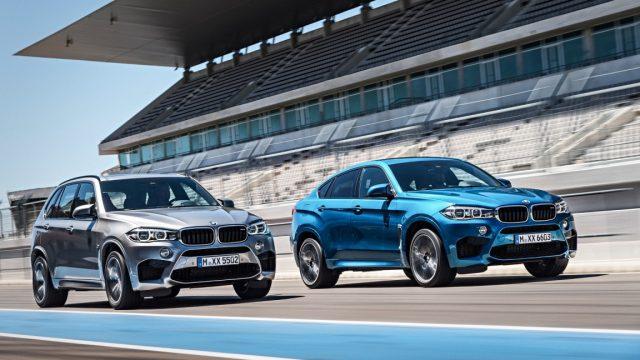 Фото BMW X5 M и X6 M 2015