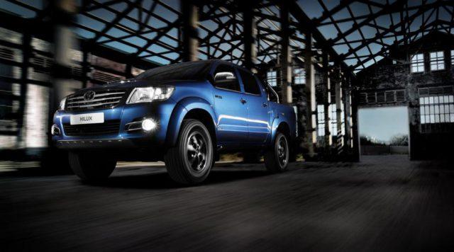 Рестайлинговый Toyota Hilux 7
