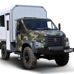 ГАЗ «Садко Next» 4х4 — преемник одного из самых массовых грузовиков СССР — ГАЗ 66 «Шишига»