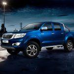 Компания Toyota представила новую версию Hilux 2016 модельного года