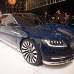 Новый Lincoln Continental Concept (2015-2016) представили на Нью-Йоркском автошоу