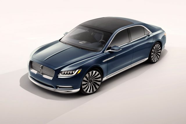 Фото Lincoln Continental Concept 2015-2016