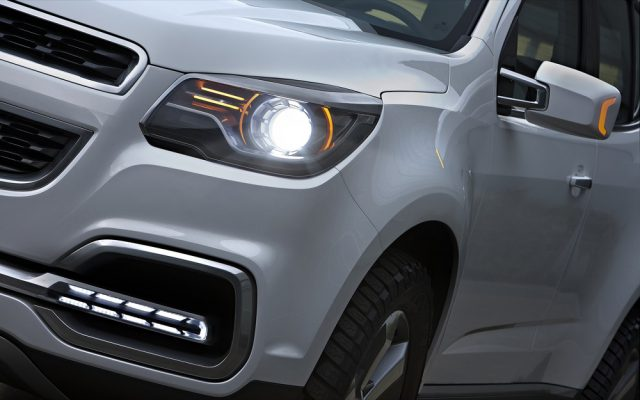 Фото Chevrolet Trailblazer 2015-2016 - передняя фара