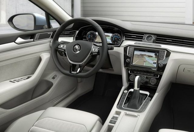 Фото салона Volkswagen Passat 2015-2016