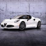Компания Alfa Romeo в Великобритании уже начала приём заказов на новый спорткар 4C Spider