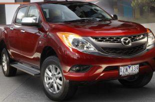 Шпионы опубликовали фотографии пикапа Mazda BT-50