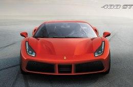 В сети появились рисунки нового Ferrari 488 GTS до официальной премьеры