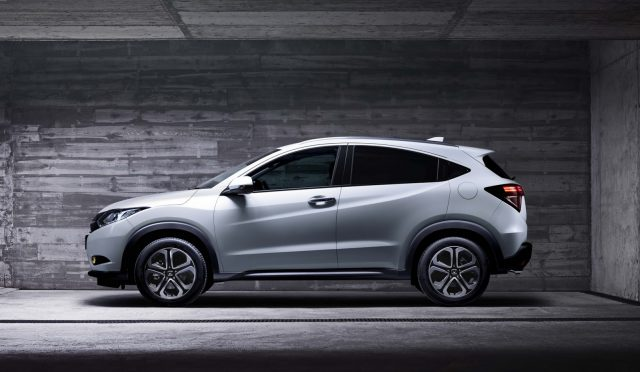 Honda HR V вид сбоку