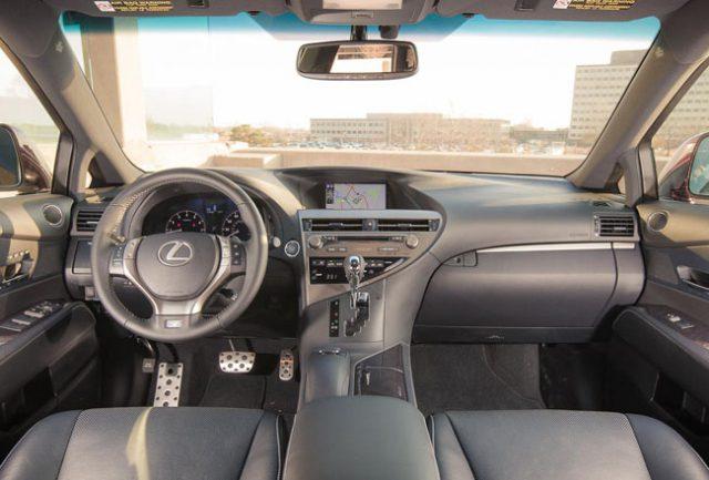 Фото салона Lexus RX350 2015