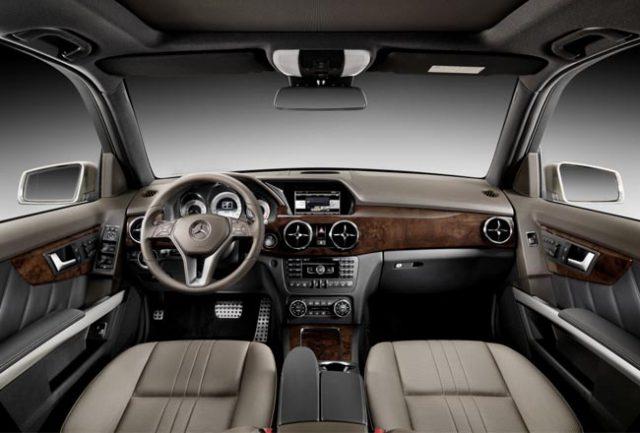 Фото салона Mercedes Benz GLK