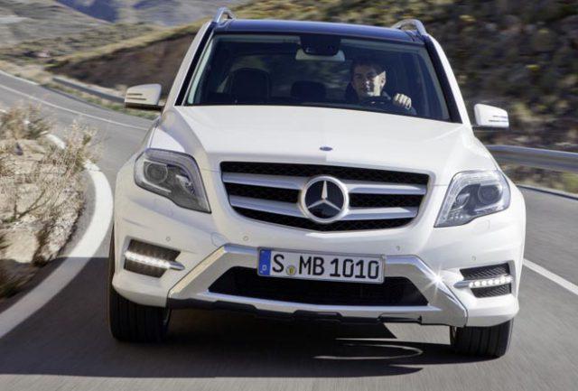Фото Mercedes Benz GLK 2015