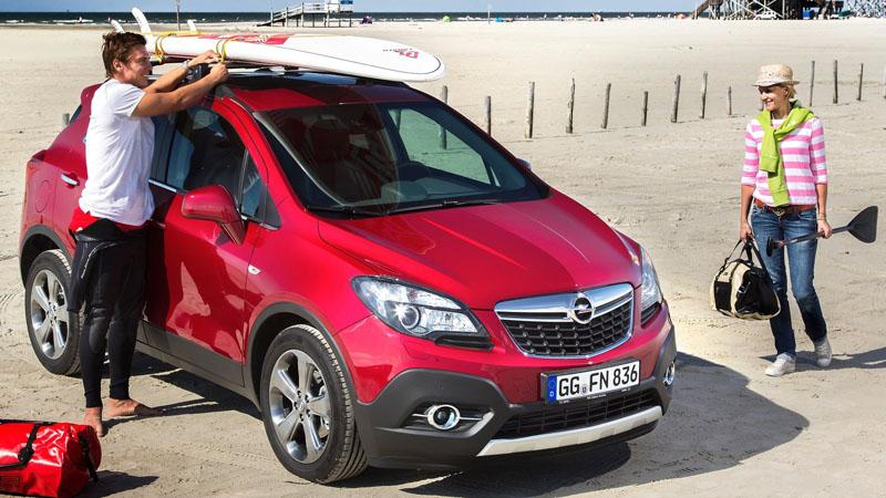 Новый Opel Mokka 2015 (2016)