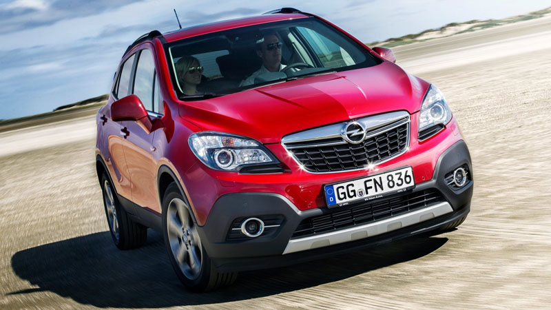 Фото Opel Mokka 2015-2016