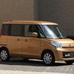 Прошло обновление модели Suzuki Spacia