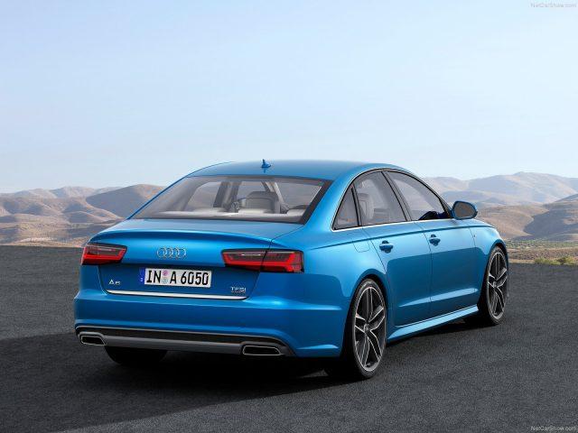 Фото Audi A6 2015-2016 - вид сзади